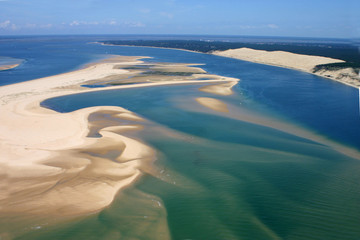 Entre dunes et lagune - Arcachon (33)