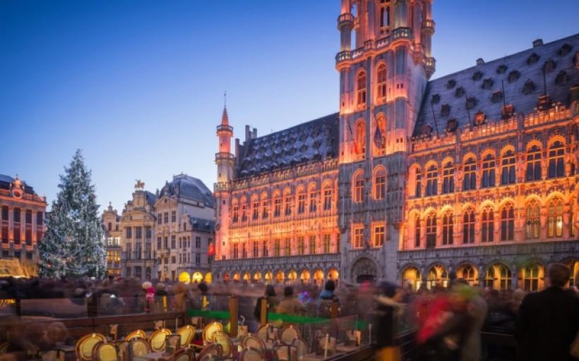 Plaisirs d'hiver au plat pays - Bruxelles (Belgique)